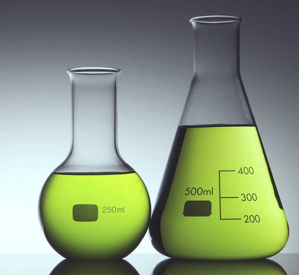 Green Chemistry - lab beakers