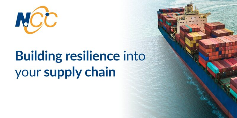 Building resilience into your supply chain