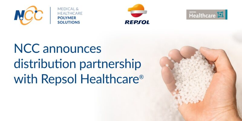 NCC Medical & Healthcare Polymer Solutions announces distribution partnership with Repsol